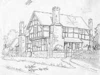 Ye Olde House as drawn by E. W. Green